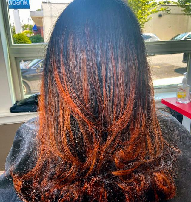 color trends - copper tones for fall colors and style